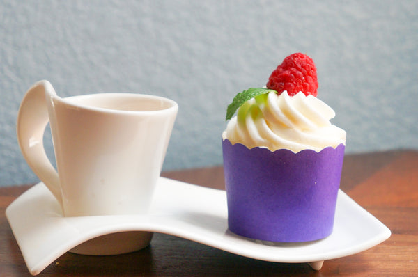 Case of Solid Plum Purple Bake-In-Cups-  1200 Large/1440 Small