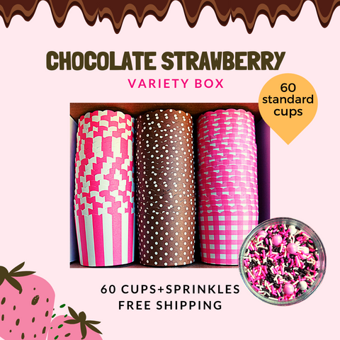 """Chocolate Strawberry"" Variety Pack- Shipping Included"