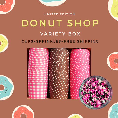 """Donut Shop"" Variety Pack- Avail. in Large/Small Cups"