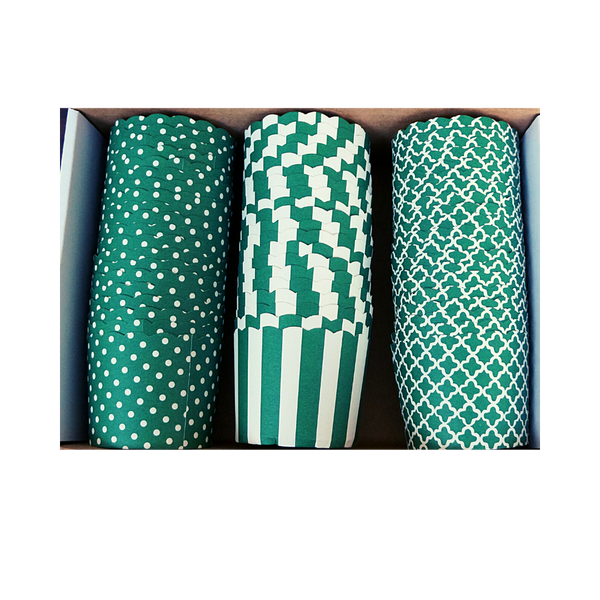 60 Large Cups Variety Pack- Green - Shipping Included!