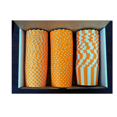 60 Large Cups Variety Pack- ORANGE- Shipping Included!