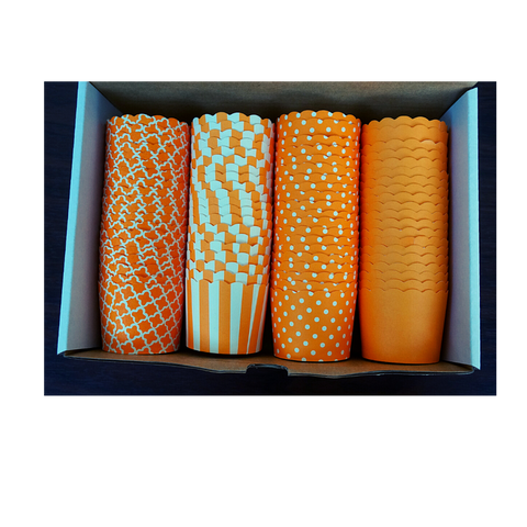 80 Small Cups Variety Pack- ORANGE- Shipping Included!