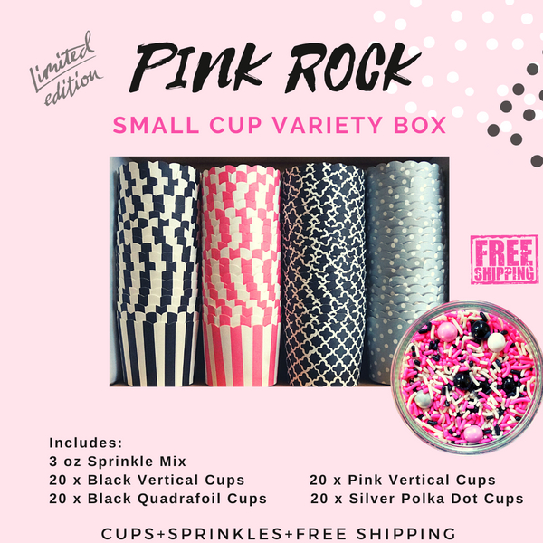 """Pink Rock"" Variety Pack- Shipping Included"