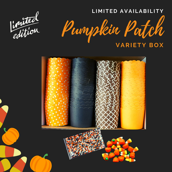 """Pumpkin Patch"" Variety Pack- Avail. in Large/Small Cups"