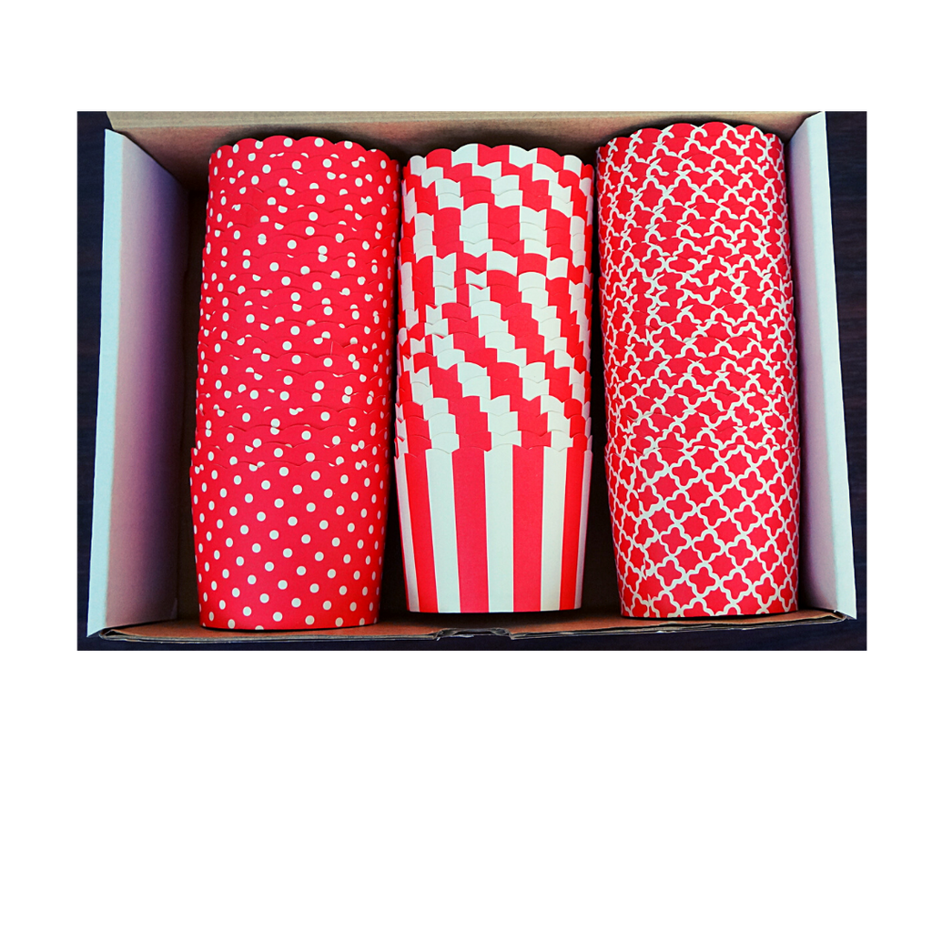 60 Large Cups Variety Pack- Red - Shipping Included!