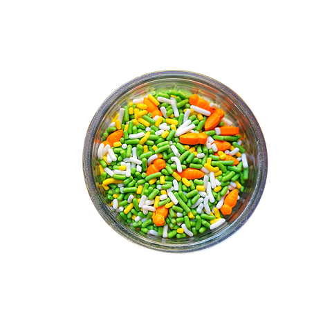 Carrot Patch Sprinkle & Candy Mix  (3 oz)