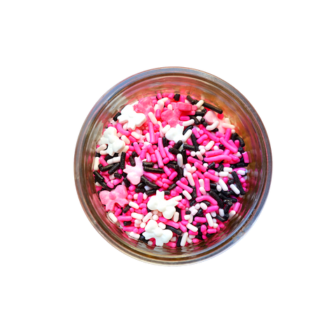 Mini Bows Sprinkle & Candy Mix  (3 oz)
