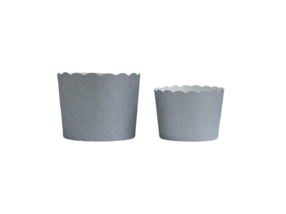 Case of Solid Silver Bake-In-Cups-  1200 Large/1440 Small