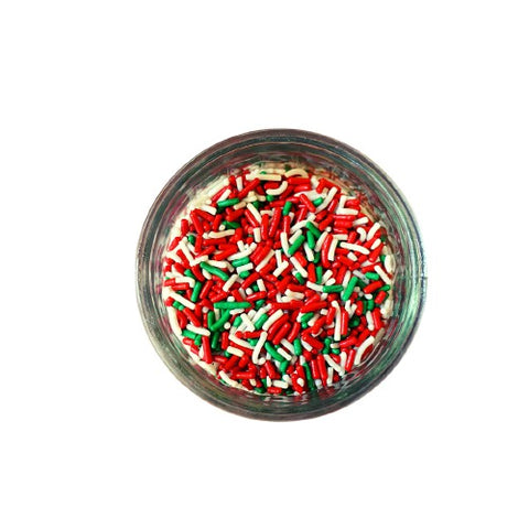 Christmas Mix Sprinkles (3 oz)