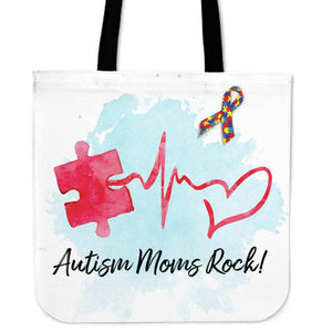 ACTION ON AUTISM LOVE TOTE BAGS