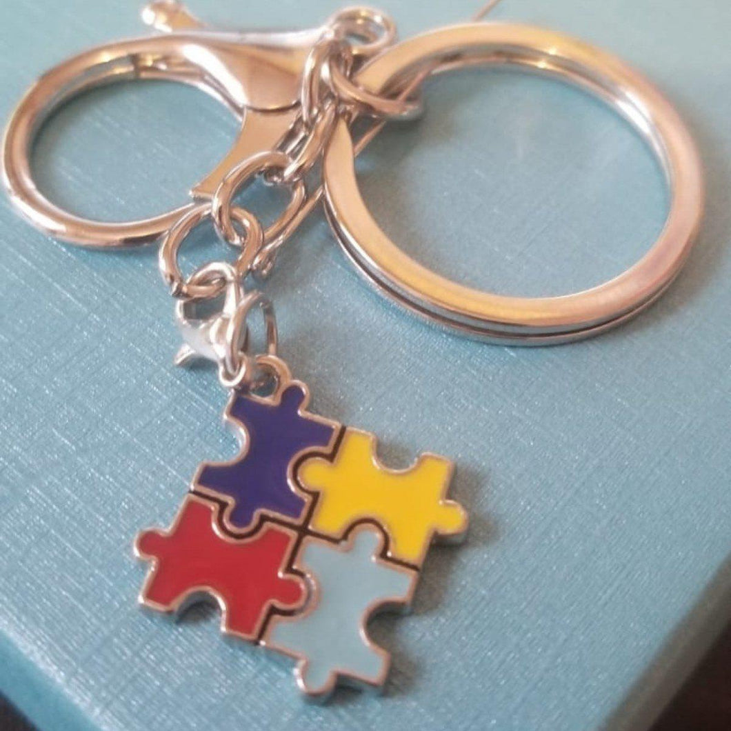 AUTISM AWARENESS KEYRINGS