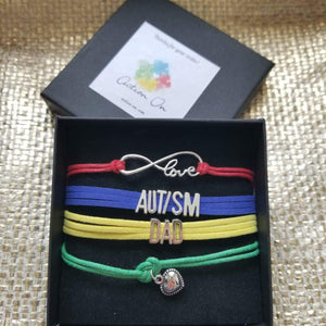 AUTISM MOM LOVE BRACELET
