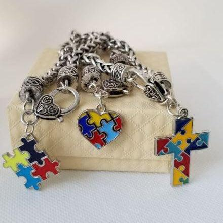 ACTION ON AUTISM PUZZLE BRACELET