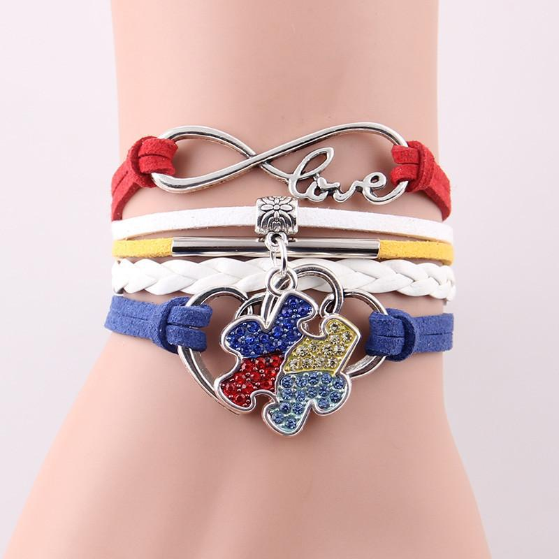 PUUZZLES LOVE TO HEART BRACELET