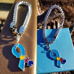 Puuzzles Autism Awareness Ribbon