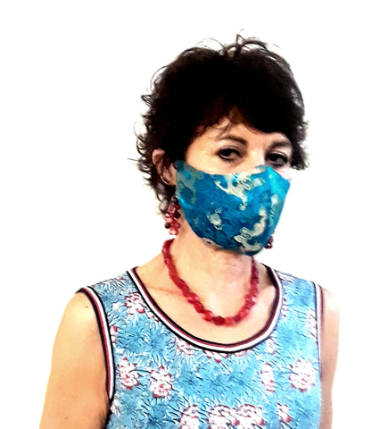 Brocade Reversible Face Mask