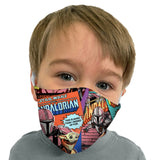 Adult and Kids Reversible One Size Face Mask in Star Wars Print