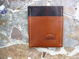 Brown & Tan Wallet Jiffy Wallet