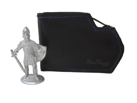 Black Wallet Zipboot