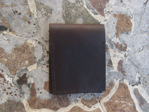 Brown Wallet Manus Card Wallet