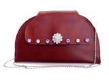 Burgundy Clutch Prague