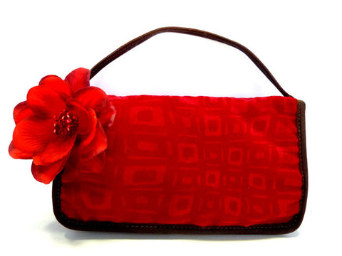 Red Clutch Midnight