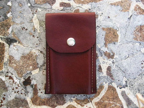 Burgundy Case Dixie Phone Wallet