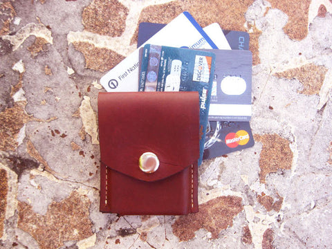 Burgundy Wallet Merces Wallet