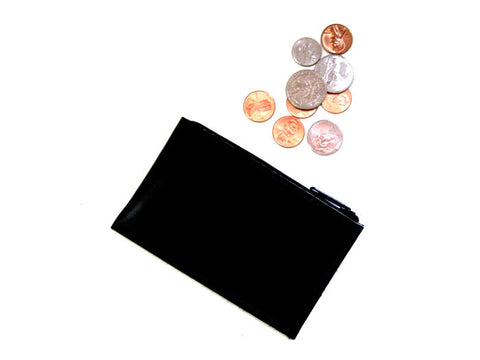 Black Wallet Zipfold