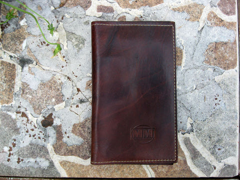 Brown Wallet V-Fold Wallet