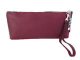 Burgundy Clutch Columba