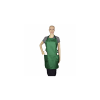 "Apron Commercial Restaurant Home Bib Spun Poly Cotton Kitchen Aprons (3 Pockets) - Fit, Durable Waitress, Waiter - Black, Green, Royal, Navy, Green, Red, White, 22"" x 24"""
