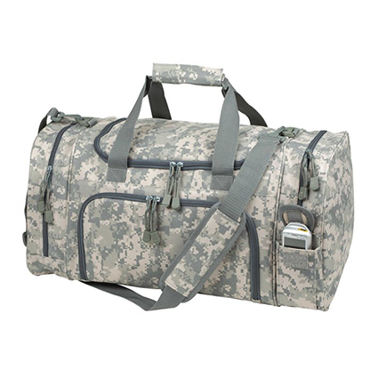 ImpecGear ACU Sports Camouflage Duffle Gym Military Bag. (21