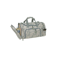 "ImpecGear ACU Sports Camouflage Duffle Gym Military Bag. (21"" x 11.5"" x 10"")"
