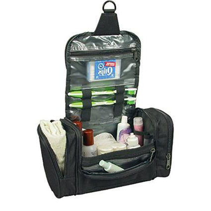 Deluxe Travel Kit W / Hanger Luggage Accessories Personal Care Bag