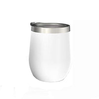 oz Stainless Steel Tumbler with Lid & Gift Box | Wine Tumbler Double Wall Vacuum Insulated Travel Tumbler Cup for Coffee, Wine, Cocktails, Ice Cream, Powder Coated Tumbler