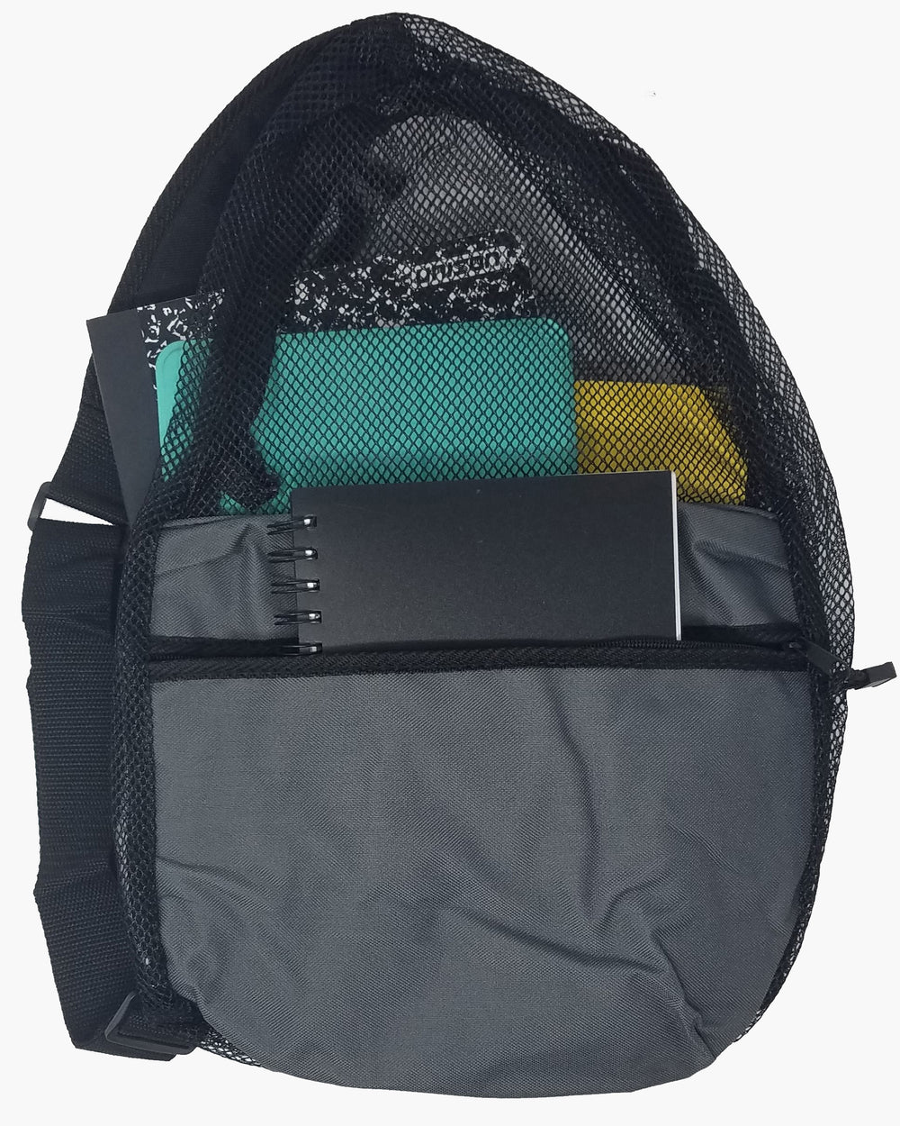 ImpecGear Polyester Small Lightweight Zippered Travel Portable Mesh Backpack (Multiple Colors)