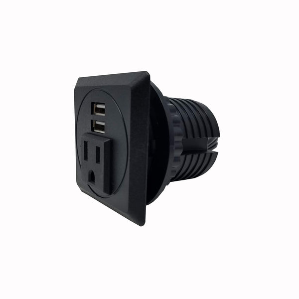 Desktop Power Grommet Outlet Data Center, 2