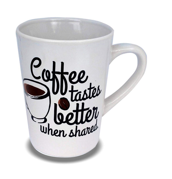 Coffee Tastes Better Coffee Mug For Home Office Lunch Breakfast Morning Work