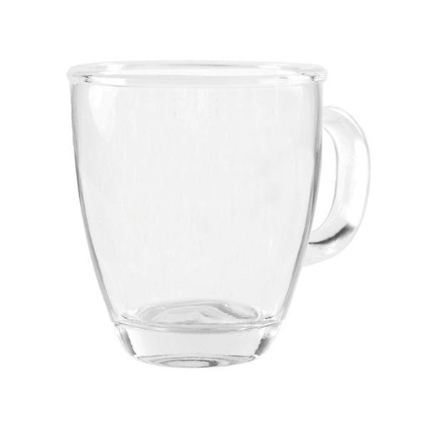 Clear Coffee Mug,Double Wall Insulated Coffee Mug,Perfect size for Drinking Glass, Mugs with Handle,Glass Coffee Mugs, Lead Free