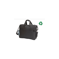 ImpecGear Recycled Portfolio Organizer Carry Briefcase Bag (Black2)