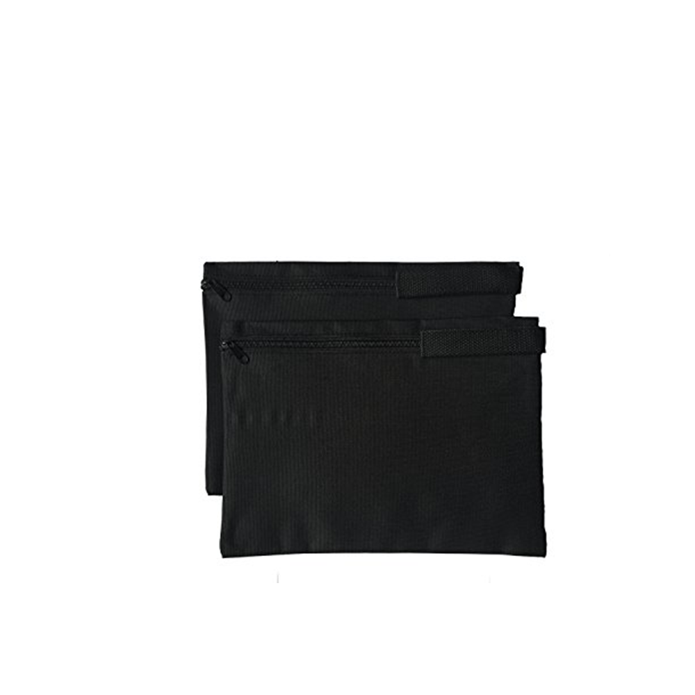 d88db443b094 2 PACK ImpecGear Document Zipper Cash Bags Poly Cloth Value Packages,