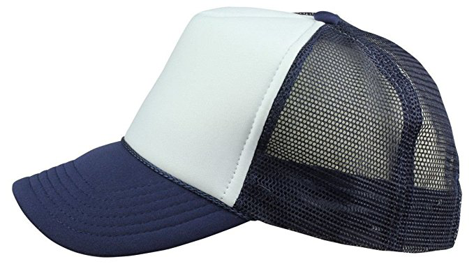 2 ImpecGear Youth Kid's Baseball Caps Trucker Hats Mesh Cap(2 FOR Price of 1)