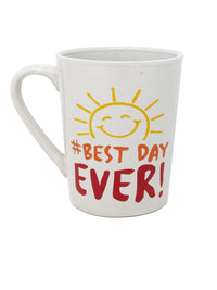 #Best Day Ever Design Mug For Tea Coffee Lunch Dinner Work Home Cup