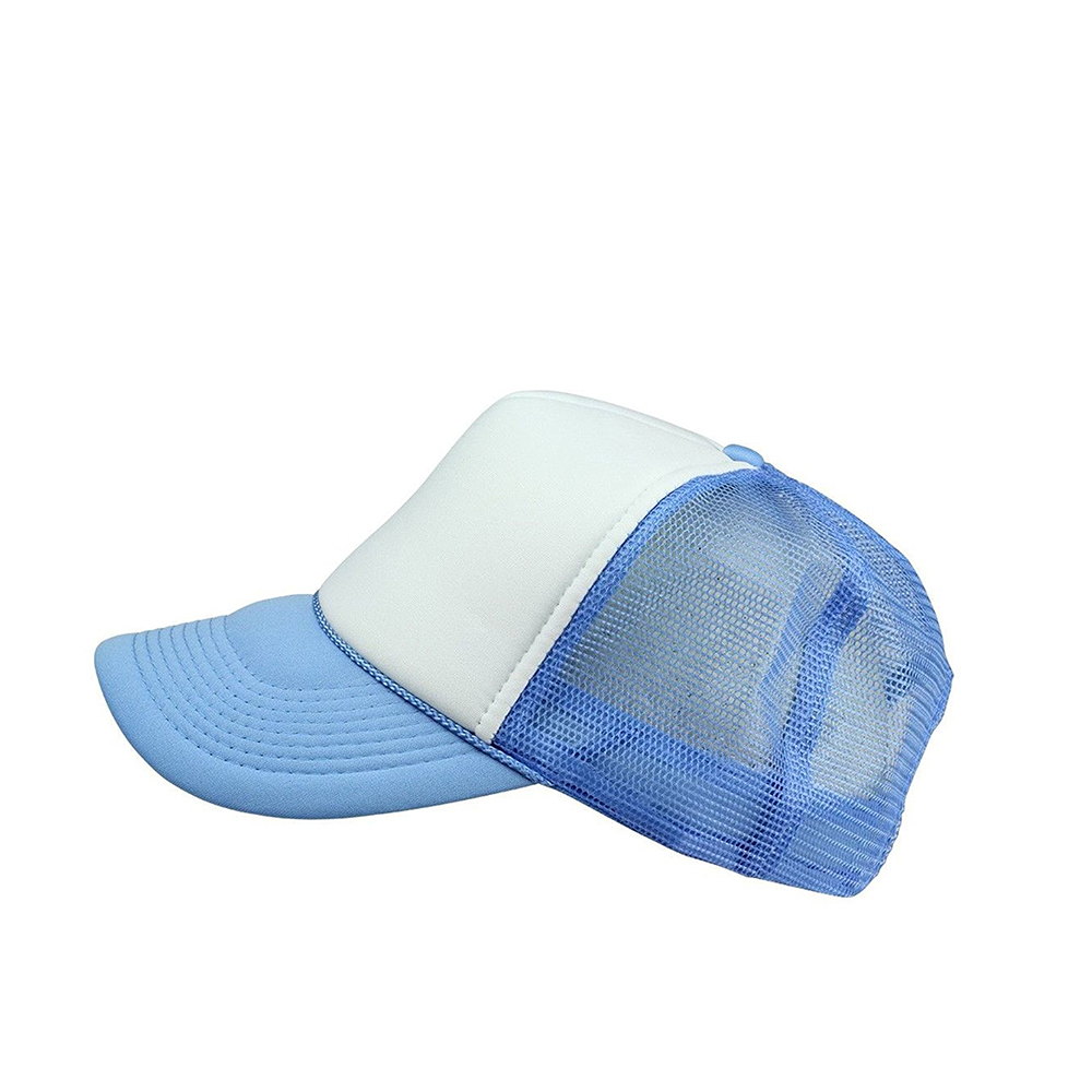 Baseball Caps Blank Trucker Hats Summer Mesh Cap Snap Back Sports Hat Style-Casual Outdoor