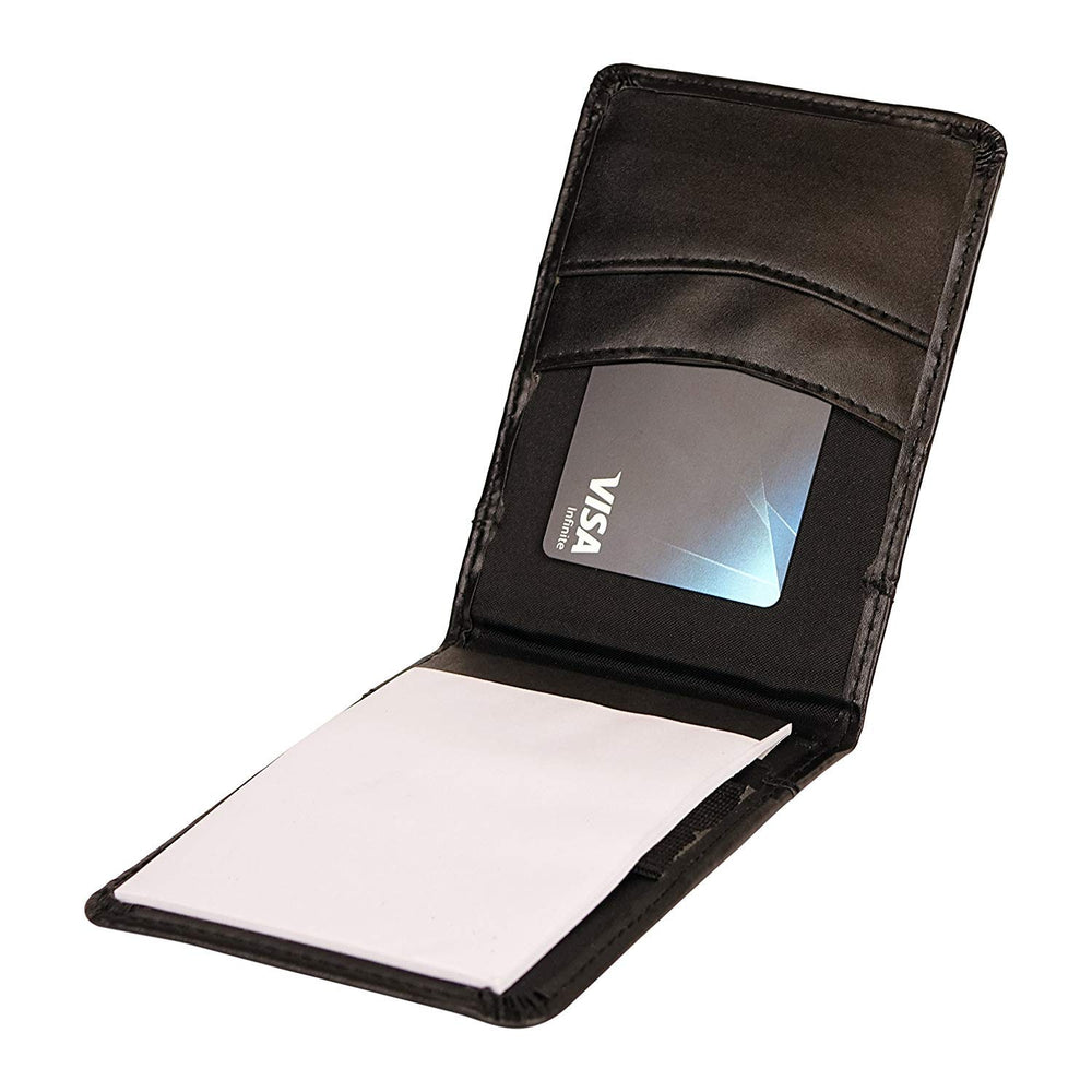 ImpecGear Personal Jotter Notepad Organizer with Business Card Slots, Journalist Jotter, Flip Notepad with Pockets and Pen Holder (Personal Jotter) OGR7041