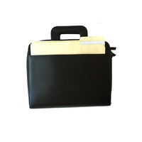Briefcase 3-Ring Binder Folder Portfolio Organizer Planner w/ Smart Handle
