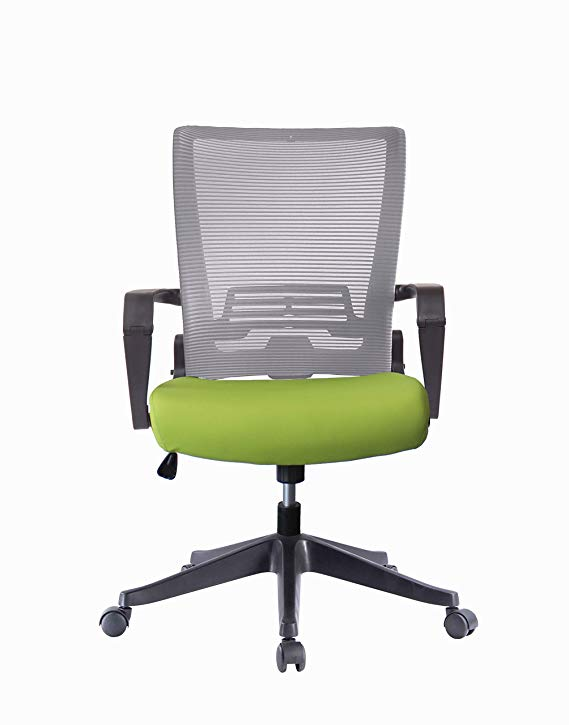 ImpecGear Ergo HQ Mesh Back/Fabric Seats W/Black Frame Easy Folding Fold Out Chairs (Kairo-Black -Without Headrest) Or (Custom Color Seat Fabric-with many beautiful colors)