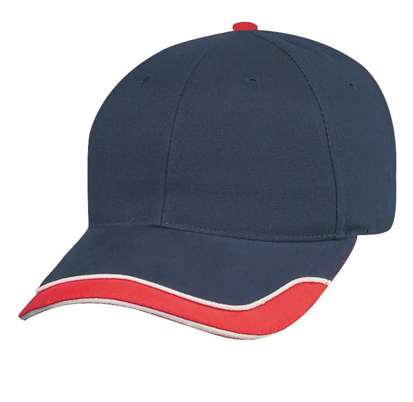 Brushed Cotton Trucker/Baseball Cap w/ Fused Buckram Closure For Travel/Outdoors - U-CAP