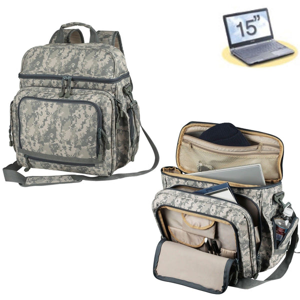 NEW-ACU-Digital-Camo-Military-Army-Laptop-Bag-Notebook-Backpack-Camouflage